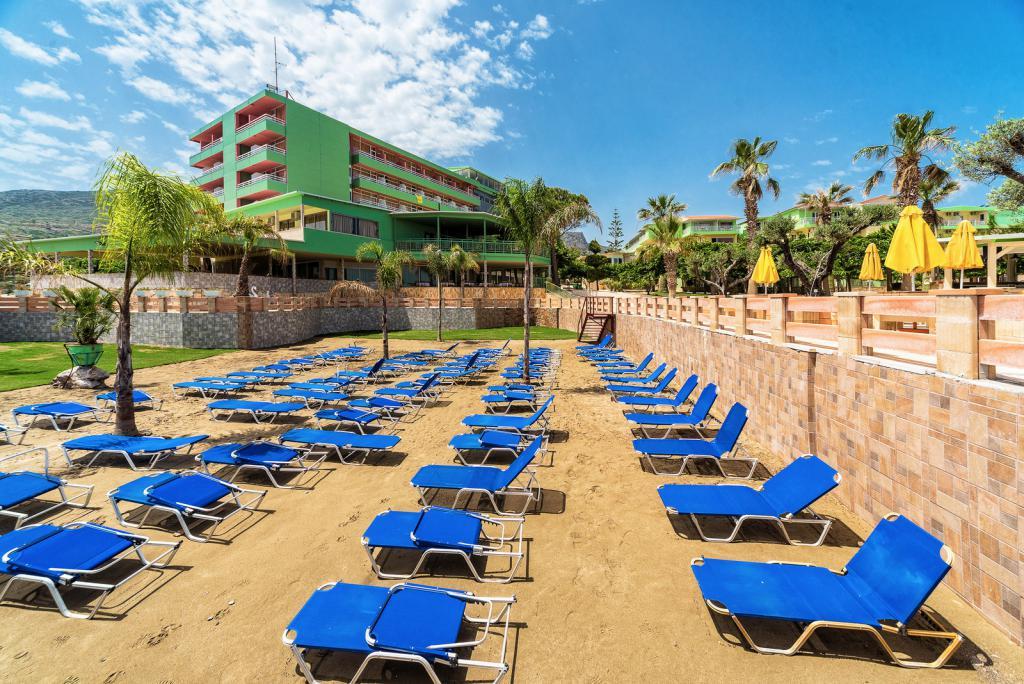 сломал эйр бич крит фото отеля и пляжа пути тропинке встретили