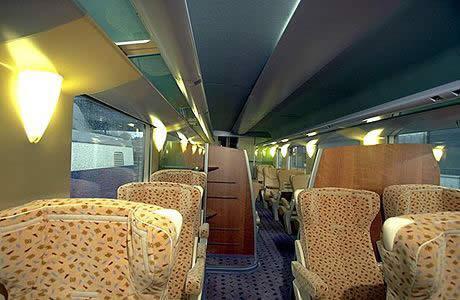 Поезда в Европе.