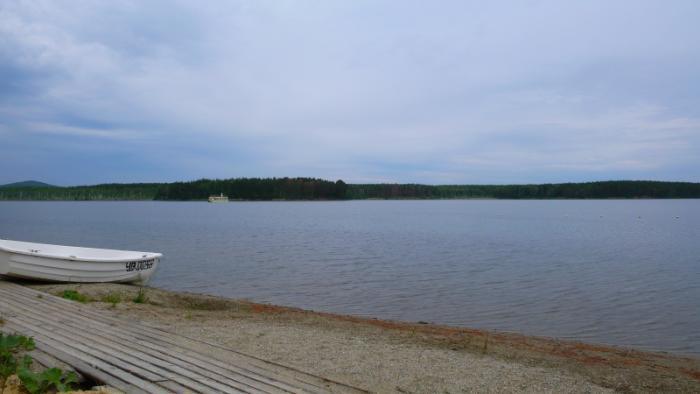Рыбалка на озере еланчик